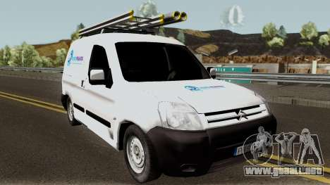 Citroen Berlingo HidroPrahova Edition para visión interna GTA San Andreas