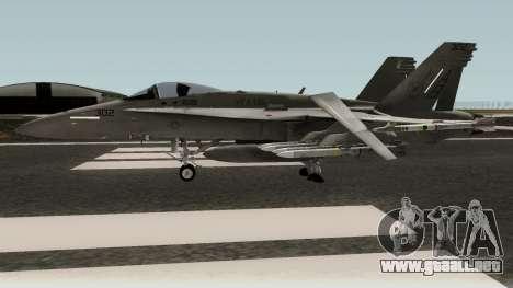 FA-18C Hornet para GTA San Andreas