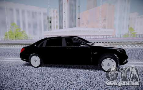 Mercedes-Benz S600 Maybach para GTA San Andreas left