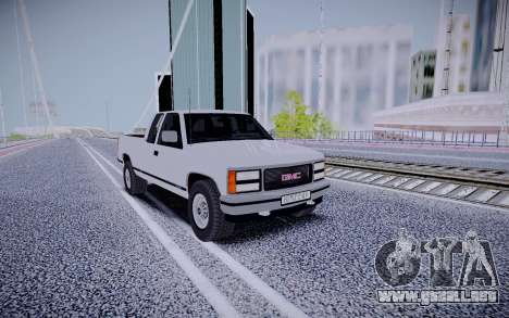 GMS Sierra para GTA San Andreas left