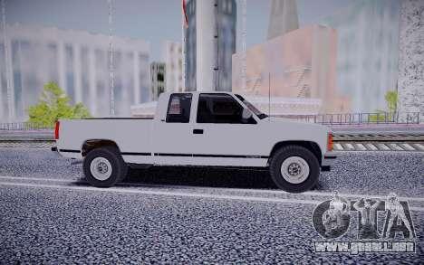 GMS Sierra para la visión correcta GTA San Andreas