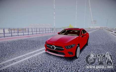 Mercedes-Benz CLS450 4matic 2018 para GTA San Andreas