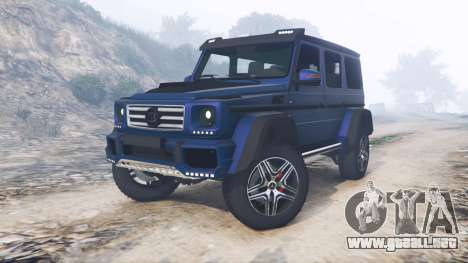 Mercedes-Benz G 500 (W463) 2015 [replace]