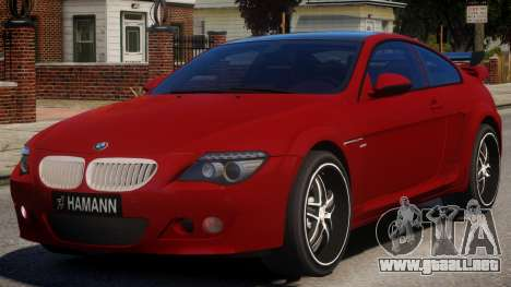 BMW 6-Series Stock para GTA 4