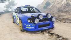 Subaru Impreza S8 WRC (GD) 2001 [add-on] para GTA 5