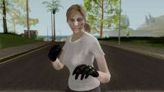 The Walking Dead Andrea Comic para GTA San Andreas