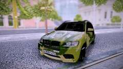 BMW X5M Camo para GTA San Andreas