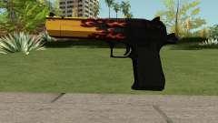 Desert Eagle Blaze para GTA San Andreas