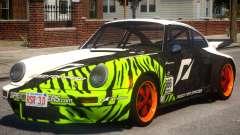 1974 Porsche 911 PJ2 para GTA 4