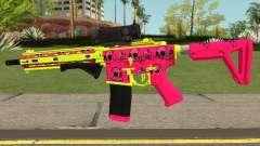 GTA Online Gunrunning Carbine Rifle MK.II Pink para GTA San Andreas