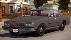 1985 Chevrolet Caprice Taxi para GTA 4