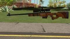 The Walking Dead Andrea Comic Weapon para GTA San Andreas