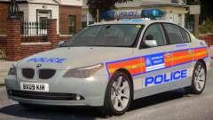 BMW 525D E60 Met Police para GTA 4