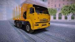 KAMAZ Camión 6460 para GTA San Andreas