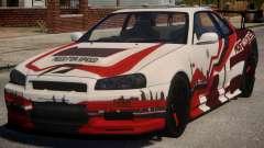 Nissan Skyline GT-R R34 PJ3