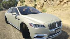 Lincoln Continental 2017 v1.0 para GTA 5