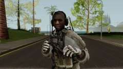 US Army Black Pilot para GTA San Andreas