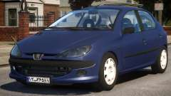Peugeot 206 V1 para GTA 4