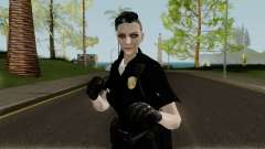 GTA Online Female Random Skin 4 Police Officer para GTA San Andreas