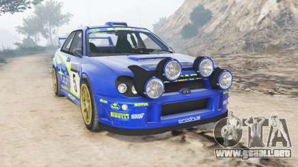Subaru Impreza S8 WRC (GD) 2001 [add-on] para GTA 5