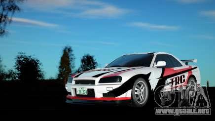 Nissan Skyline E34 para GTA San Andreas