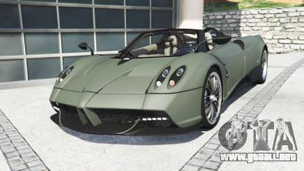 Pagani Huayra roadster 2017 [add-on] para GTA 5