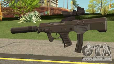 QCW-05 Knives Out K.O para GTA San Andreas