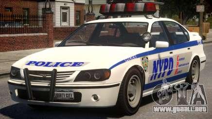 NYPD Police Patrol para GTA 4