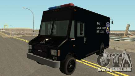 Boxbille Police S.T.A.R.S. Resident Evil 2 para GTA San Andreas