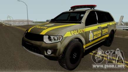 Mitsubishi Pajero Brazilian Police para GTA San Andreas