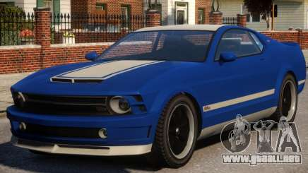 Vapid Dominator Stock para GTA 4