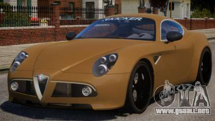Alfa Romeo 8C para GTA 4