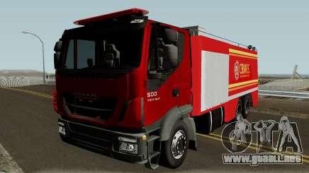 Iveco Trakker Firetruck para GTA San Andreas