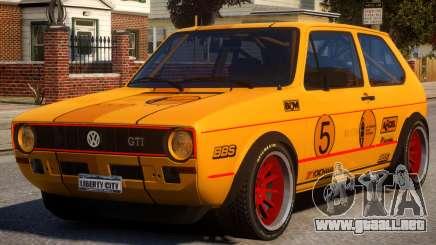 VW Golf GTI MK1 Rally PJ para GTA 4
