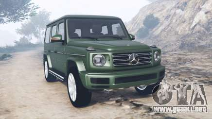 Mercedes-Benz G 500 (W463) 2018 [add-on] para GTA 5