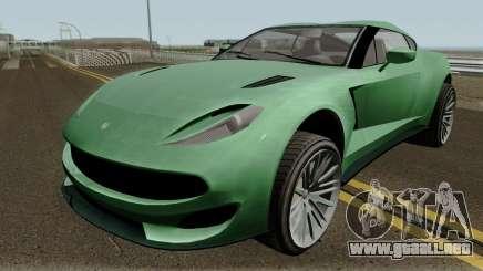 Cheval Taipan GTA V IVF para GTA San Andreas