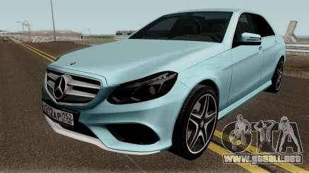 Mercedes-Benz E200 para GTA San Andreas
