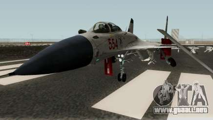Shenyang J-15 para GTA San Andreas