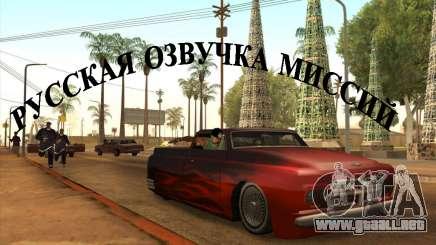 Voz de rusia v3 para GTA San Andreas