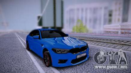 BMW M5 F90 Stock para GTA San Andreas