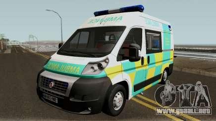 Fiat Ducato Geo Ambulance para GTA San Andreas