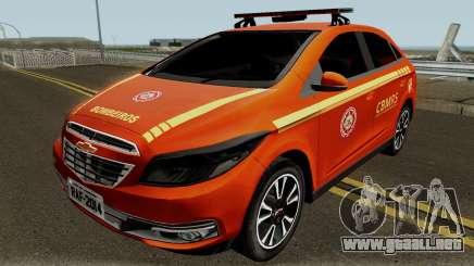 Chevrolet Onix Brazilian Police para GTA San Andreas