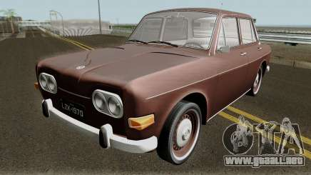 Volkswagen 1600 Sedan (Ze do Caixao) 1970 para GTA San Andreas