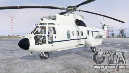 Aerospatiale AS.332L1 Super Puma v3.0 [add-on] para GTA 5