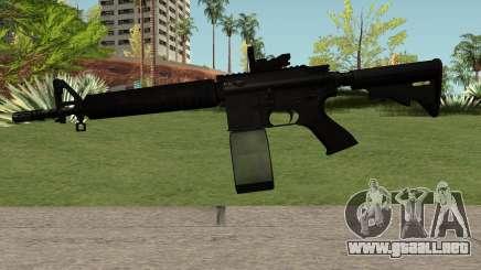 M4-A1 Black para GTA San Andreas