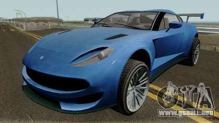 Cheval Taipan GTA V para GTA San Andreas