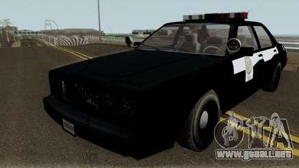 Albany Esperanto Roadcruiser LSPD para GTA San Andreas