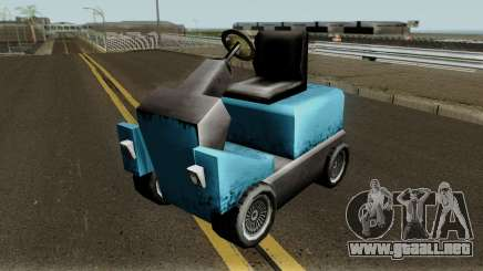 New Caddy para GTA San Andreas