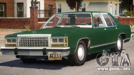 1983 Ford Crown Victoria para GTA 4
