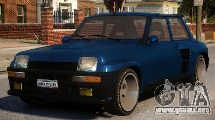 Renault 5 Stock para GTA 4